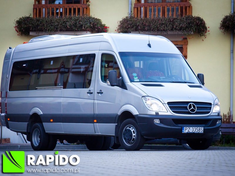 Mercedes Sprinter Bus 21+1